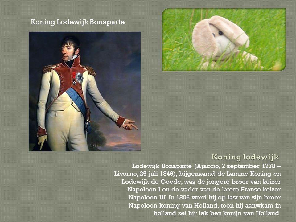 Lodewijk Bonaparte (Ajaccio, 2 september 1778 – Livorno, 25 juli 1846), bijgenaamd de Lamme Koning en Lodewijk de Goede, was de jongere broer van keiz