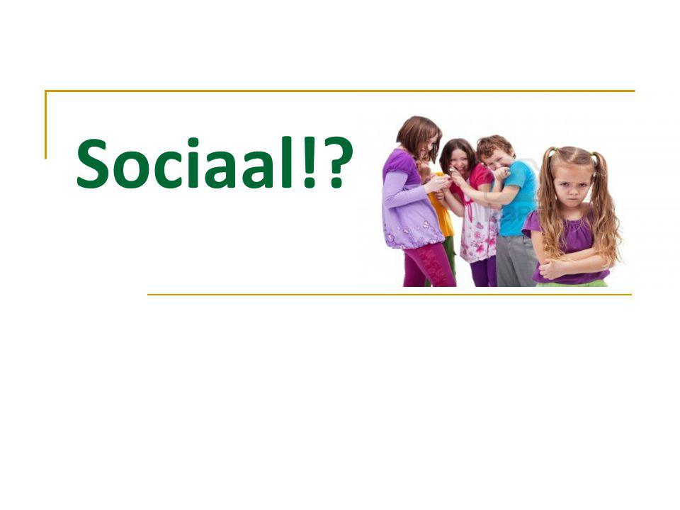 Sociaal!?