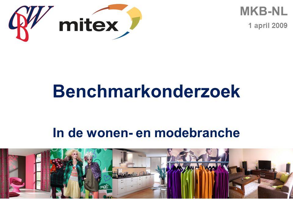 MKB-NL 1 april 2009 Benchmarkonderzoek In de wonen- en modebranche
