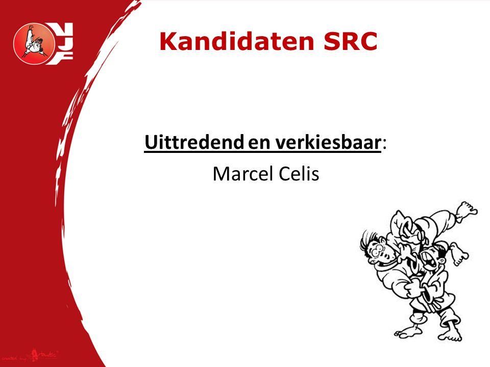 Kandidaten SRC Uittredend en verkiesbaar: Marcel Celis