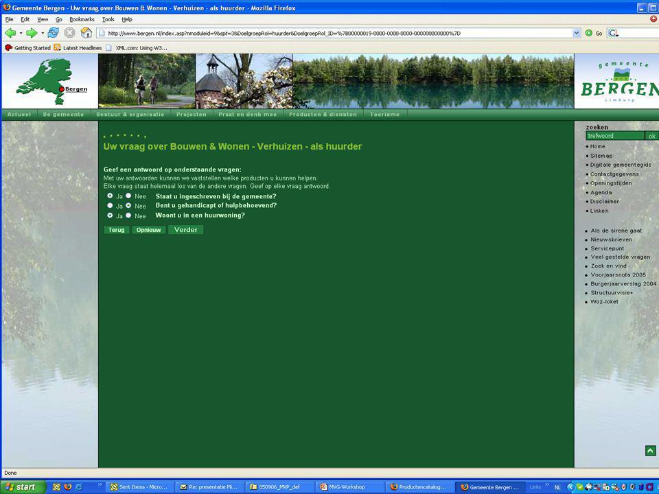 www.productencatalogus.be Gemeenschappelijke productencatalogus