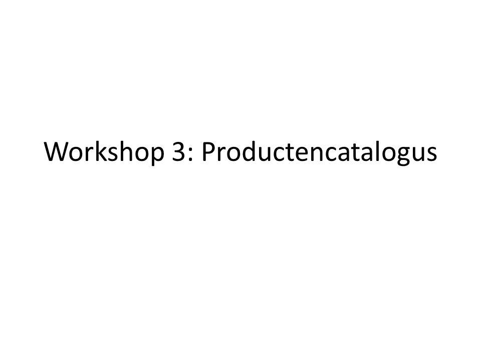 Vorige workshop: processen Plenum niet afgerond Verslagen via mail gestuurd Oproep: zijn er nog issues.