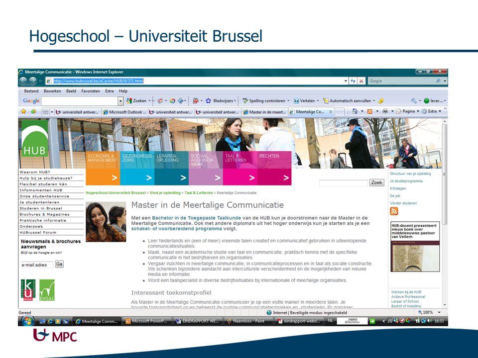 Hogeschool – Universiteit Brussel