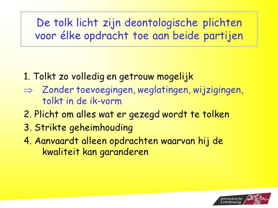 Ellen Stoffelen, arts-psychotherapeut stoffelen.ellen@skynet.be 089 49 29 36 Ine Hennissen, co ö rdinator Sociaal Tolkendienst provincie Limburg ihennissen@limburg.be 011 30 57 52 stoffelen.ellen@skynet.be ihennissen@limburg.be