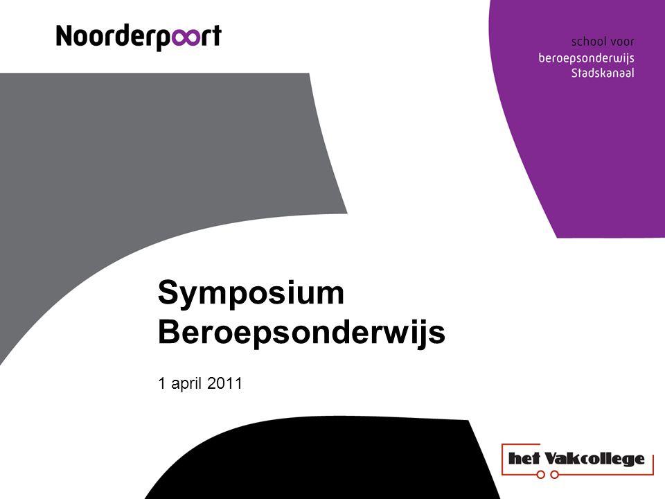 Symposium Beroepsonderwijs 1 april 2011
