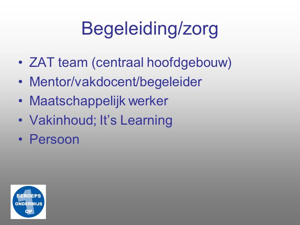 Diploma/opleiding Talen Rekenen Burgerschap Vakleer BPV Vakinhoud o.g.v. kwalificatiedossier