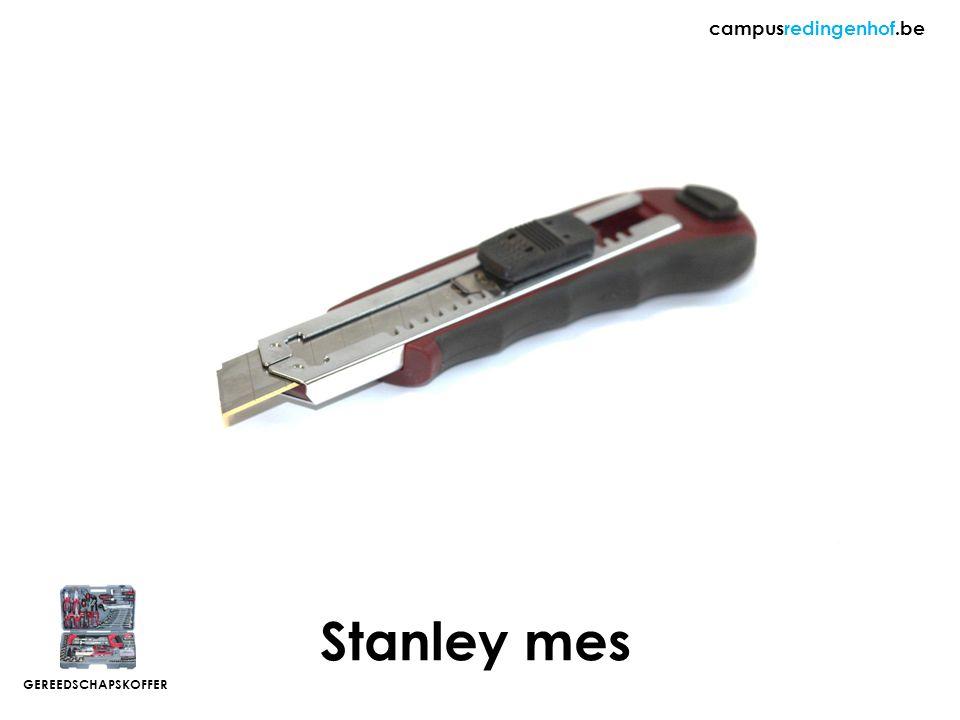 Stanley mes campusredingenhof.be GEREEDSCHAPSKOFFER