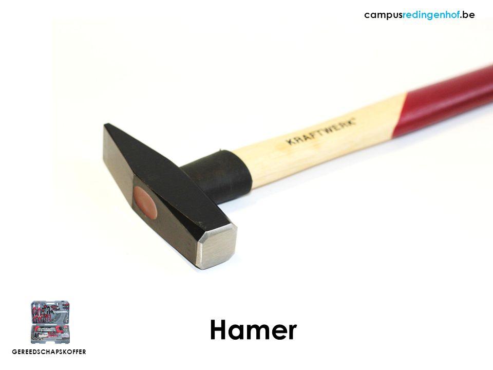 Hamer campusredingenhof.be GEREEDSCHAPSKOFFER