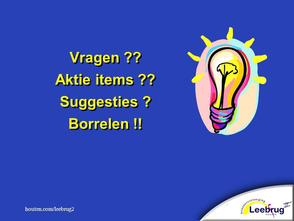 houten.com/leebrug2 Vragen Aktie items Suggesties Borrelen !!