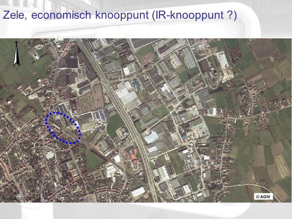 Zele, economisch knooppunt (IR-knooppunt ?)