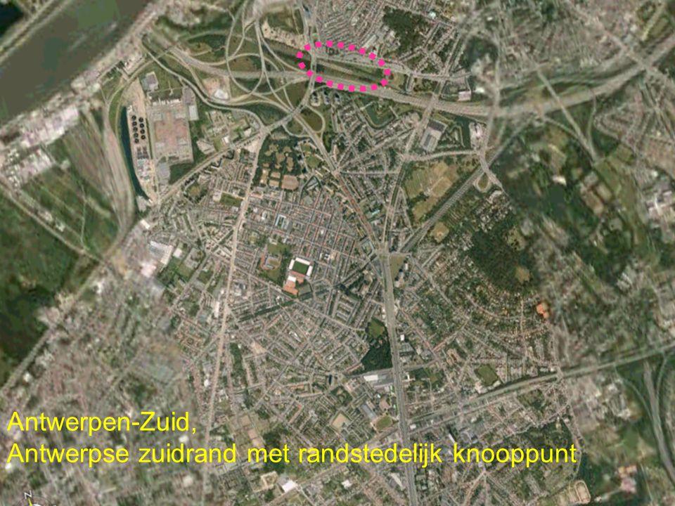 Antwerpen-Zuid, Antwerpse zuidrand met randstedelijk knooppunt
