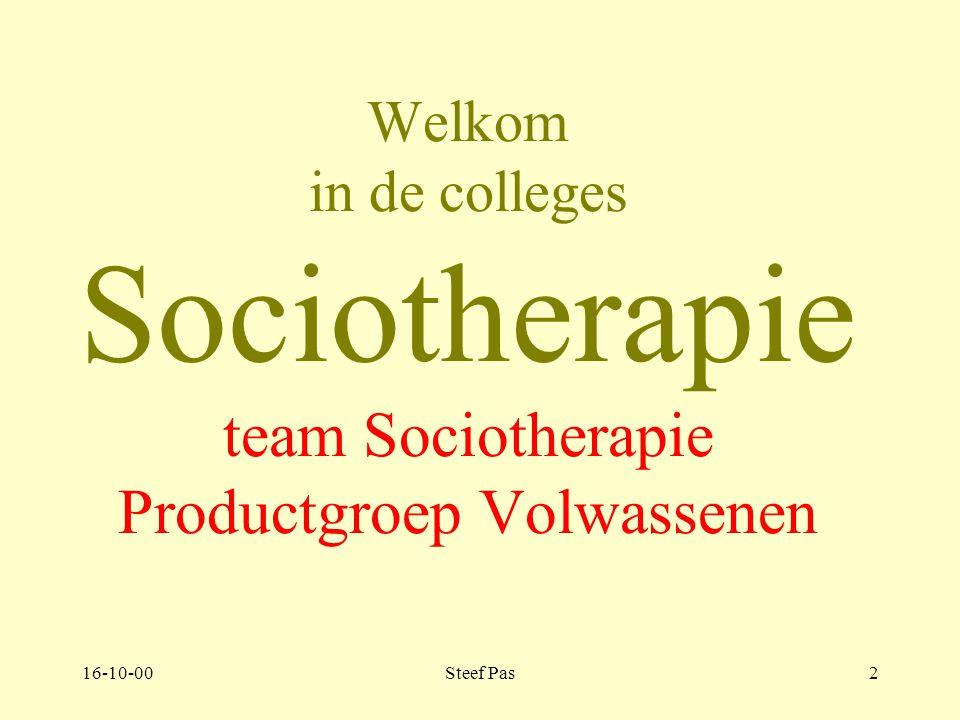 16-10-00Steef Pas22 Deel 6 Management van het therapeutisch milieu.