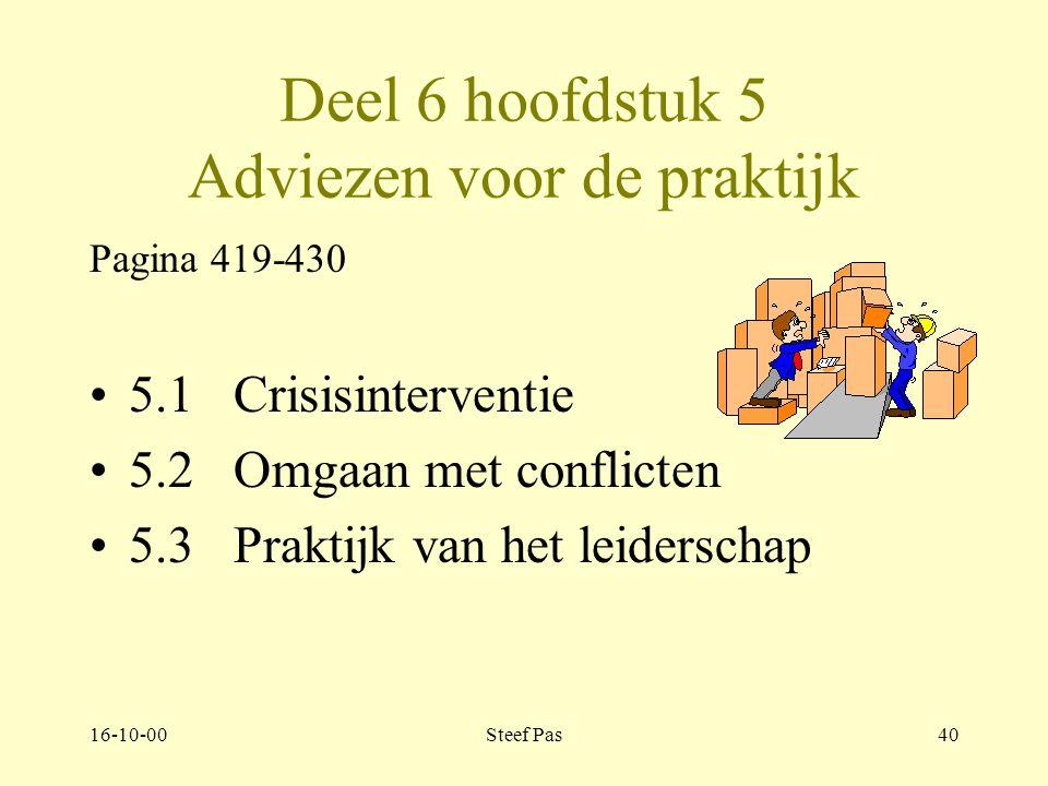 16-10-00Steef Pas39 Deel 6 hoofdstuk 5 Adviezen voor de praktijk pagina 419-430