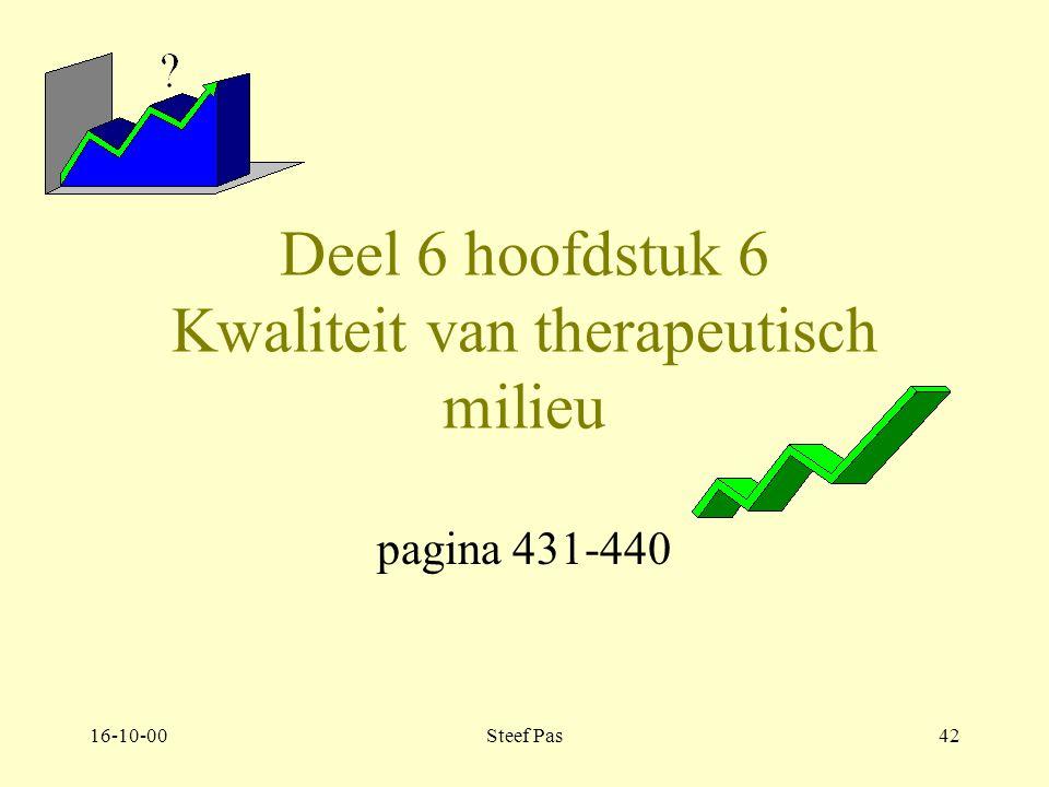 16-10-00Steef Pas41 Deel 6 Management van het therapeutisch milieu.