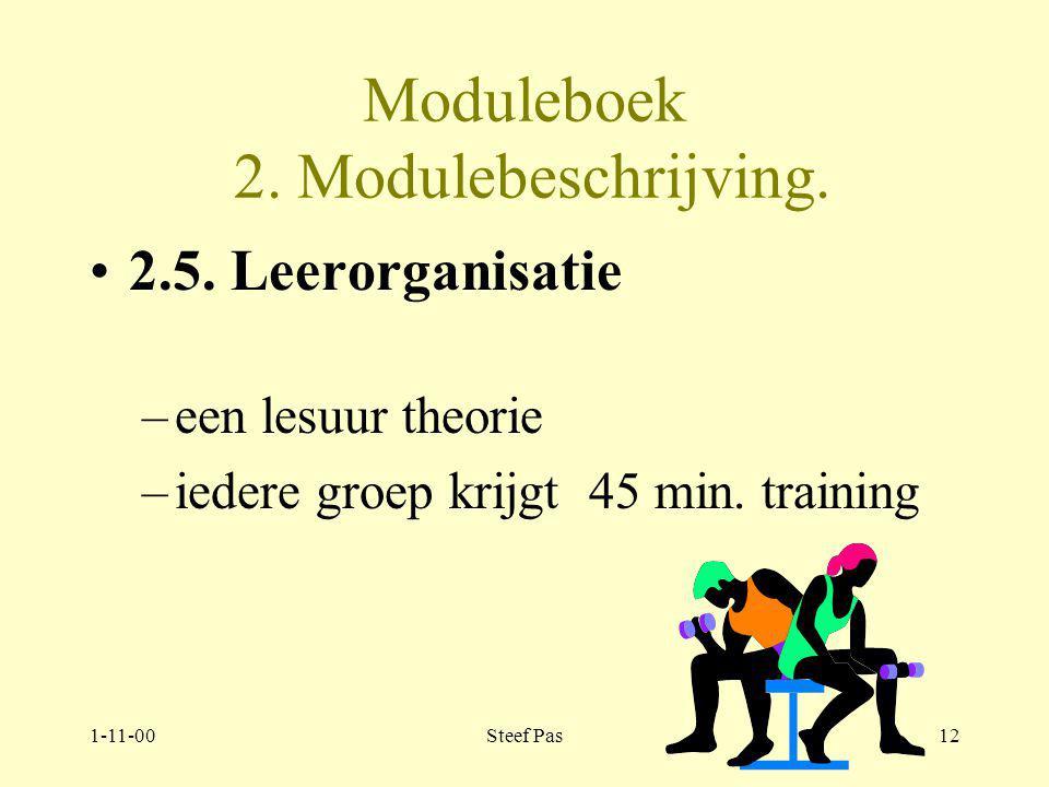 1-11-00Steef Pas11 Moduleboek 2.Modulebeschrijving.