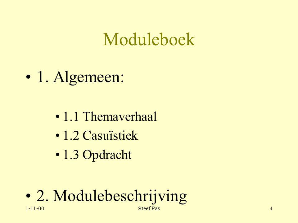 1-11-00Steef Pas3 Sociotherapie Toelichting op het module boek
