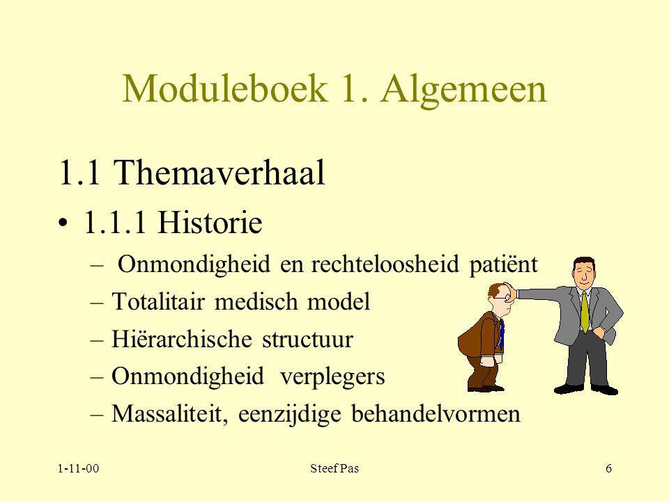 1-11-00Steef Pas5 Moduleboek.2 Modulebeschrijving –2.1 Beginvereisten.