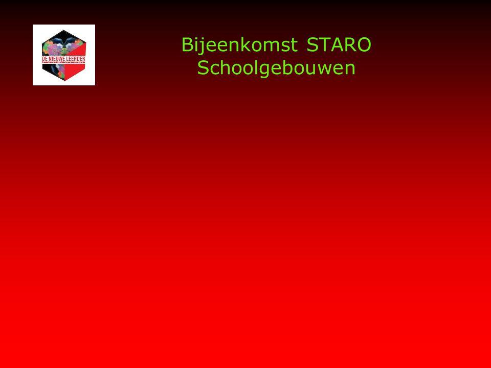 Bijeenkomst STARO Schoolgebouwen