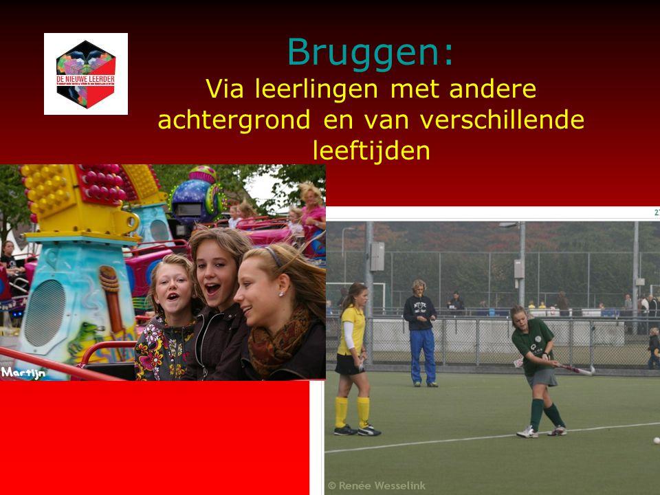 Bruggen: Via leerlingen met andere achtergrond en van verschillende leeftijden