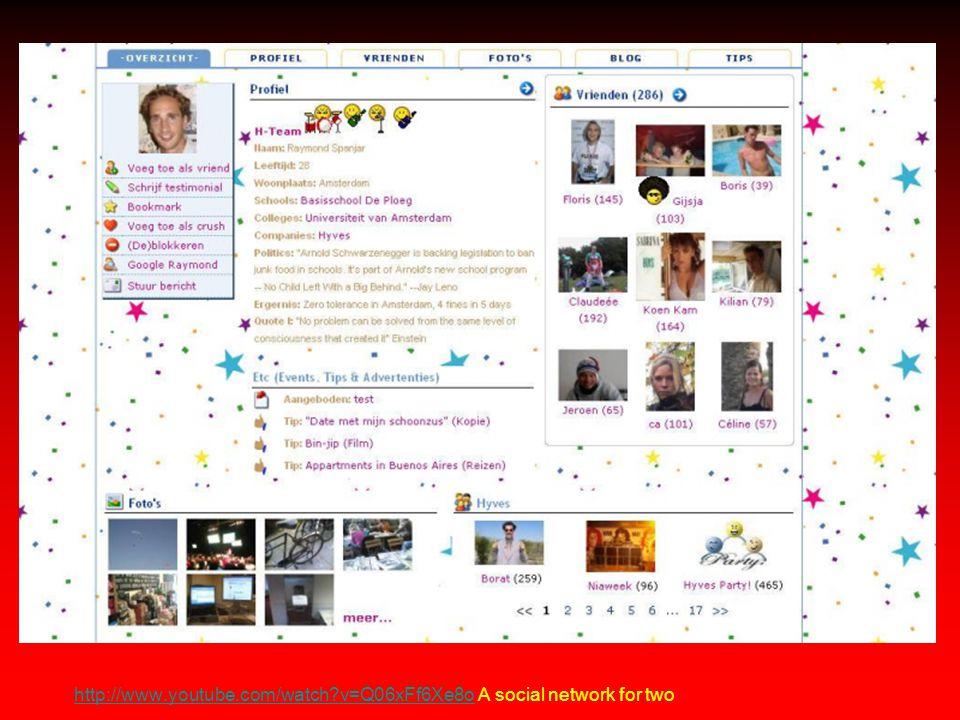 Naast bridging is bonding nodig Samen iets goeds neerzetten en aan de wereld tonen Selcy: school in de wereld http://www.youtube.com/watch?v=QzixmMTO8-o http://www.youtube.com/watch?v=SSBQ05mIVnA