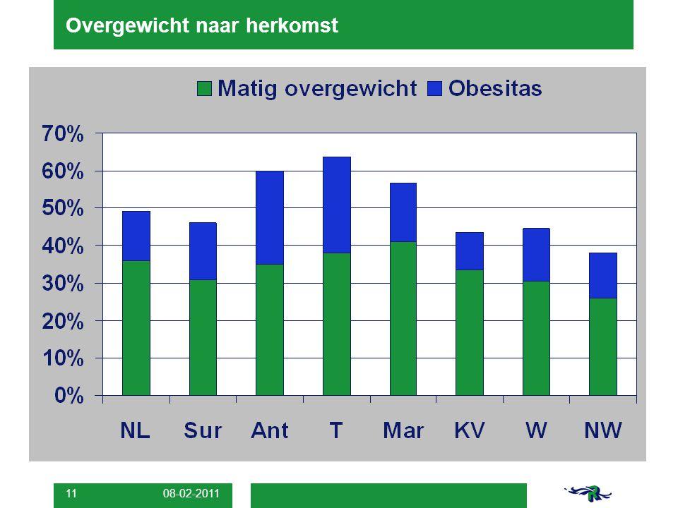 08-02-2011 11 Overgewicht naar herkomst