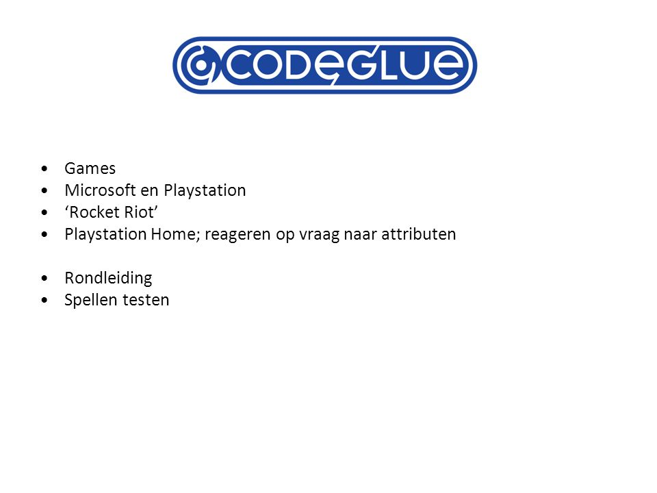 Games Microsoft en Playstation 'Rocket Riot' Playstation Home; reageren op vraag naar attributen Rondleiding Spellen testen