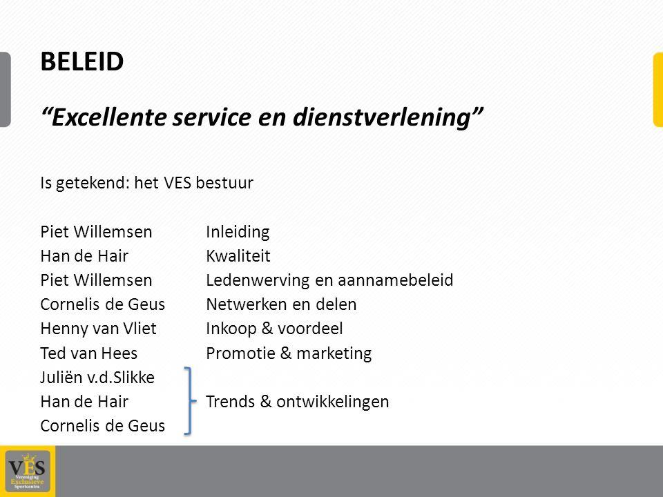 Belangrijke speerpunten 2013 Minibeurs 31 mei als podium om partners VES te ontmoeten.