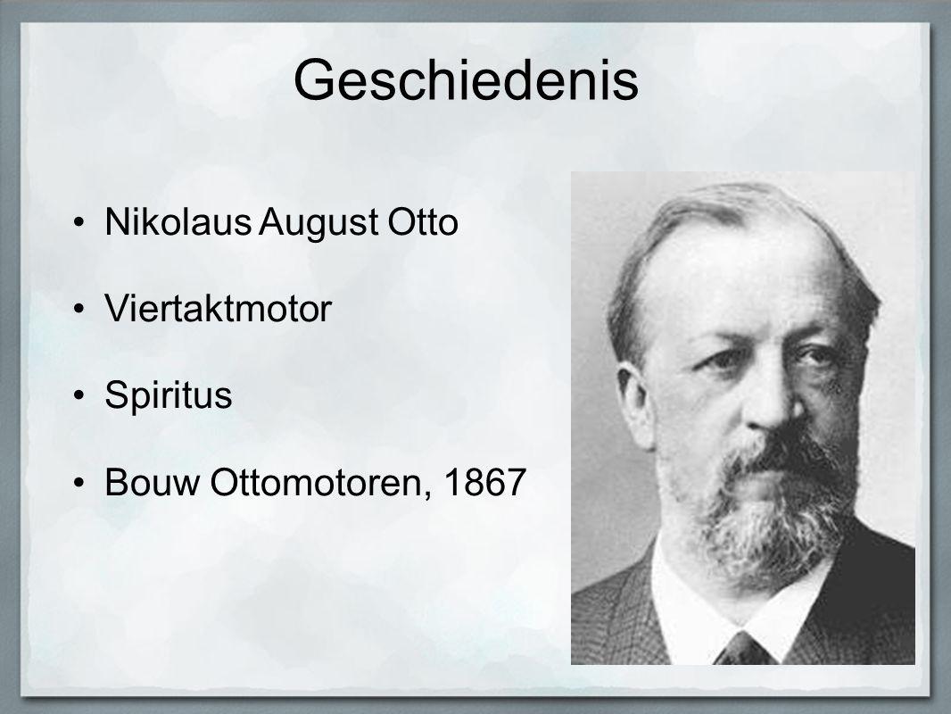 Geschiedenis Nikolaus August Otto Viertaktmotor Spiritus Bouw Ottomotoren, 1867