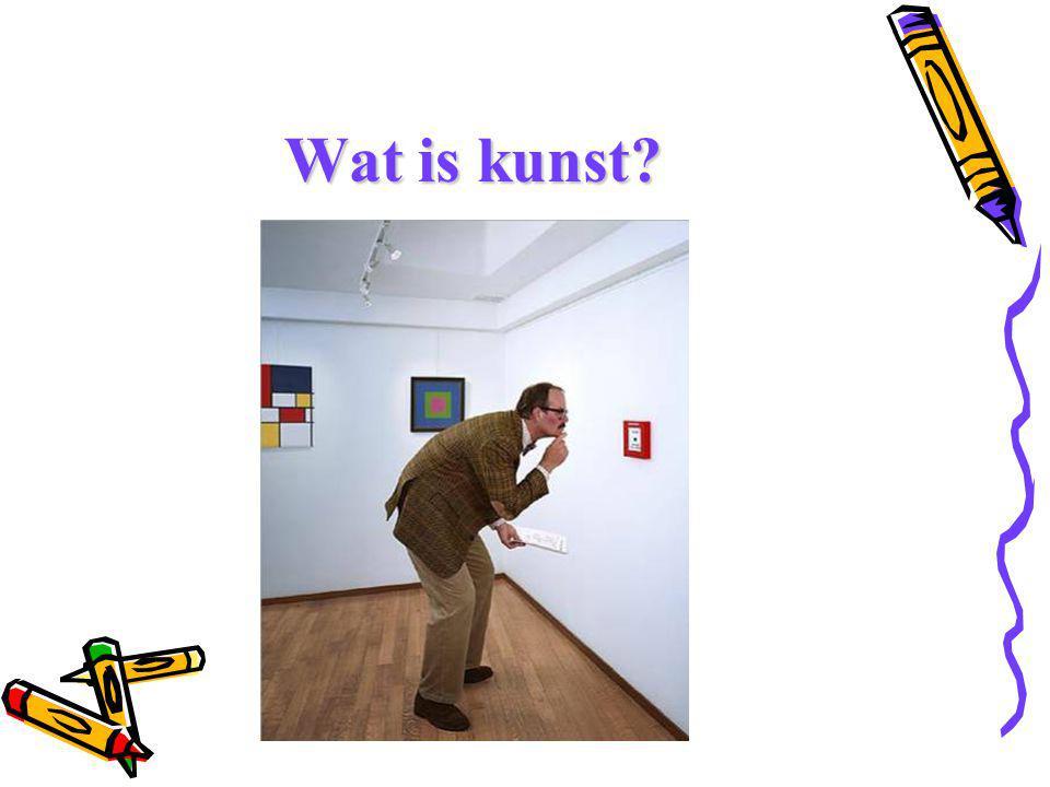 Wat is kunst?