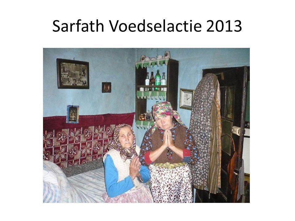 Sarfath Voedselactie 2013