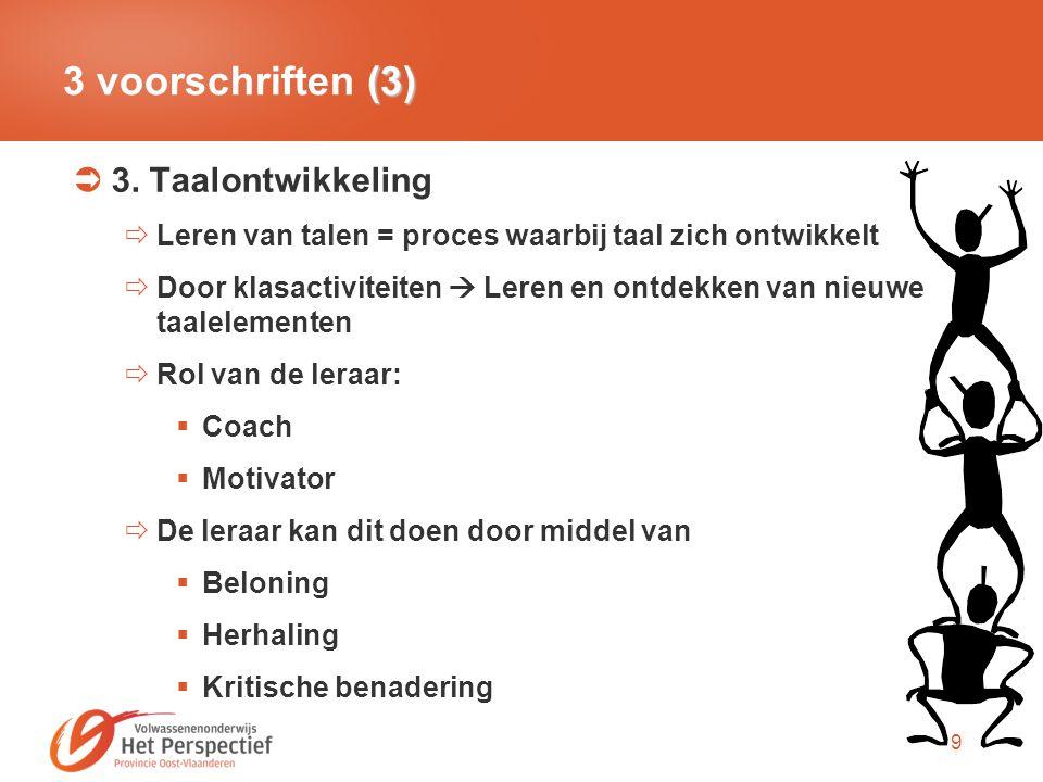 10 Pluspunten  Focus op cursisten  Op locatie lesgeven  Veel interactie  Leerkracht niet boven, maar naast cursisten