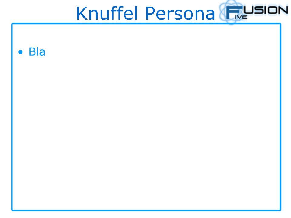 Knuffel Persona Bla
