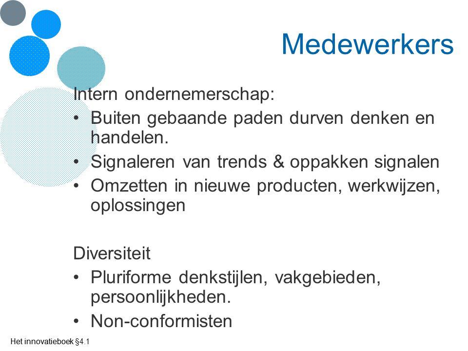 Het innovatieboek Innovatie-instrumenten (3) Ad.c.