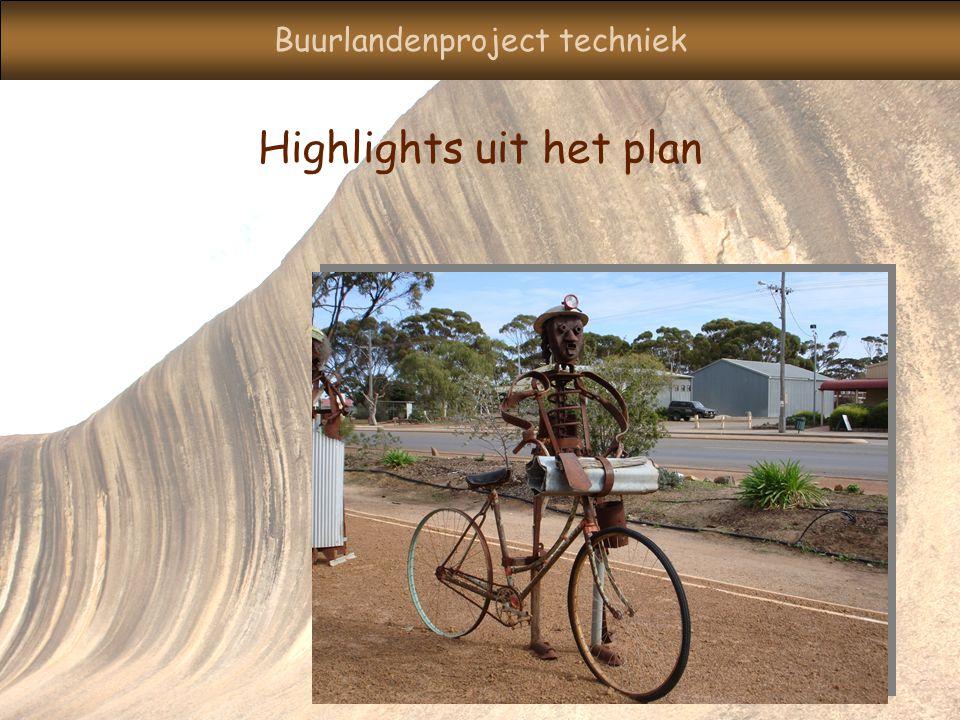 Buurlandenproject techniek Highlights uit het plan