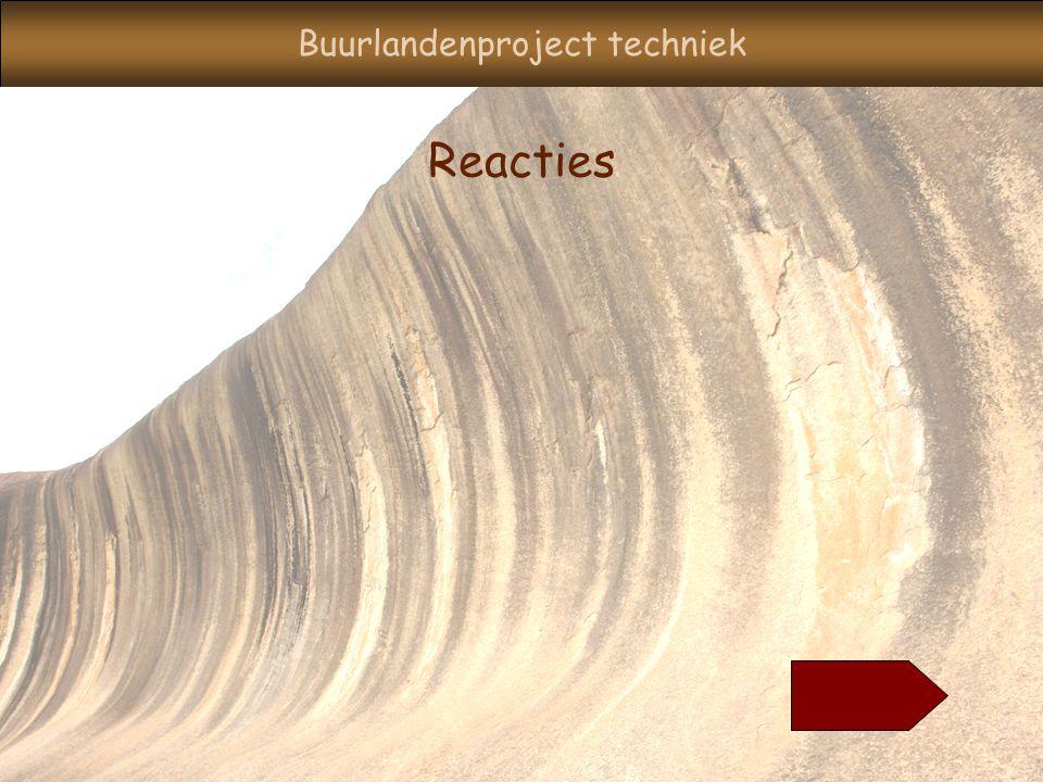 Buurlandenproject techniek Reacties
