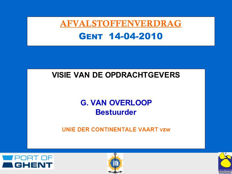 VISIE VAN DE OPDRACHTGEVERS G.