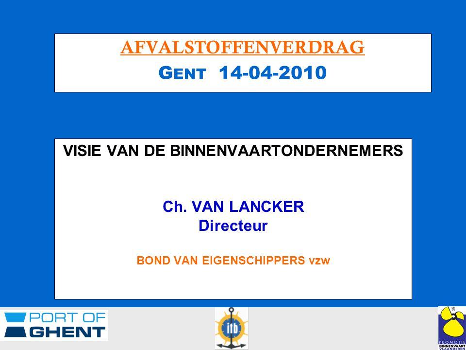 VISIE VAN DE BINNENVAARTONDERNEMERS Ch.