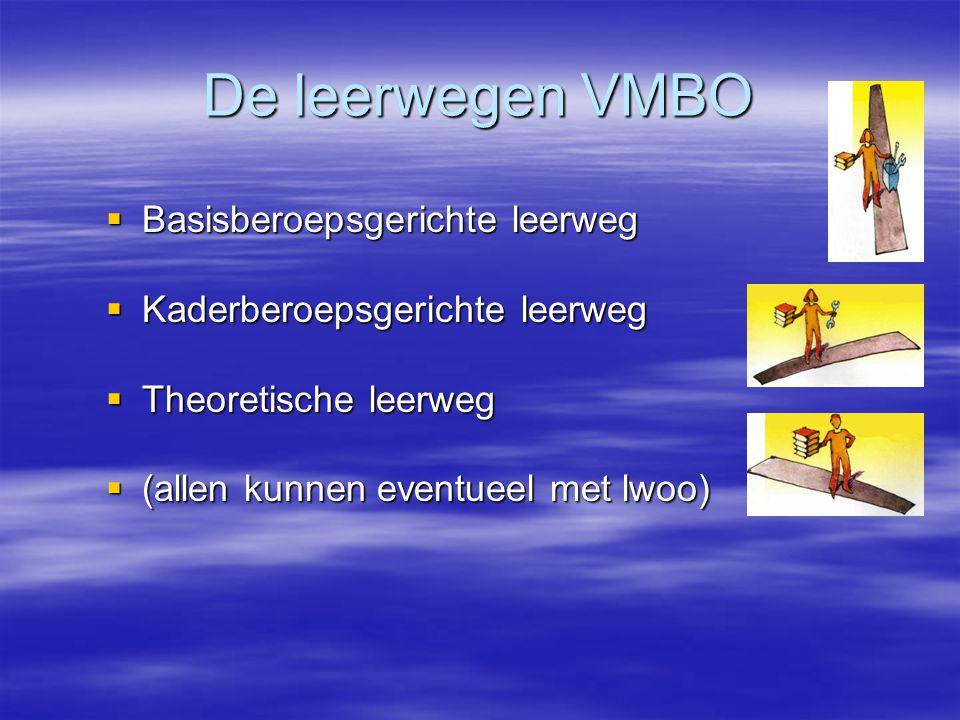 Mogelijkheden VMBO – TL advies Combiklas: KBL - TL of Combiklas: TL - Havo