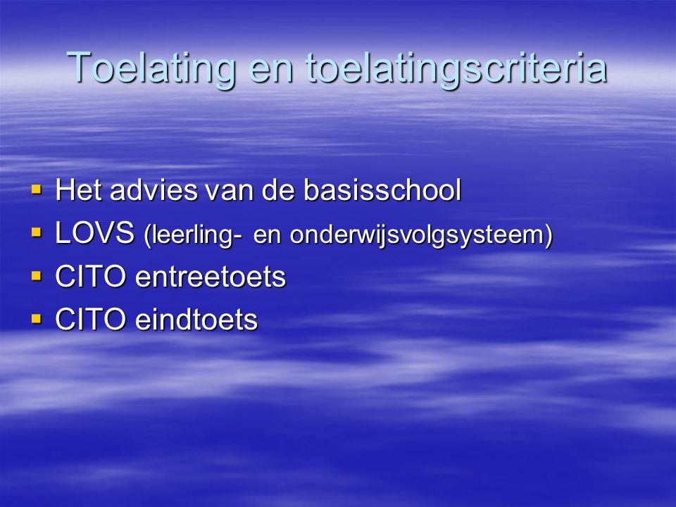 Het advies van de basisschool door het VO adviesteam  In goed overleg met ouders en kind  In overleg met leerkracht groep 7  In overleg met zorg
