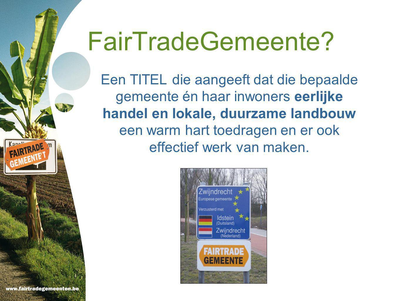 Voorbeelden Genk: wefdoek over FairTradeGemeente Lanaken: Afsluiter projectweek over fair trade op de basisschool kreeg bezoek van Karrewiet.