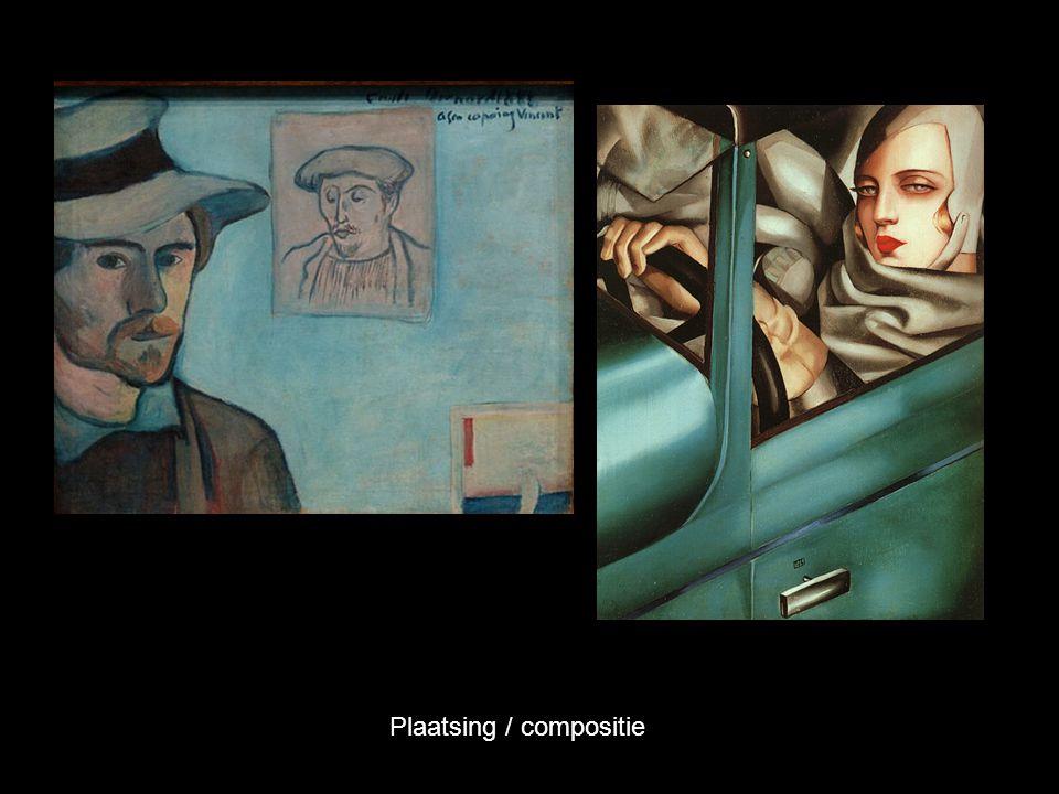 Plaatsing / compositie