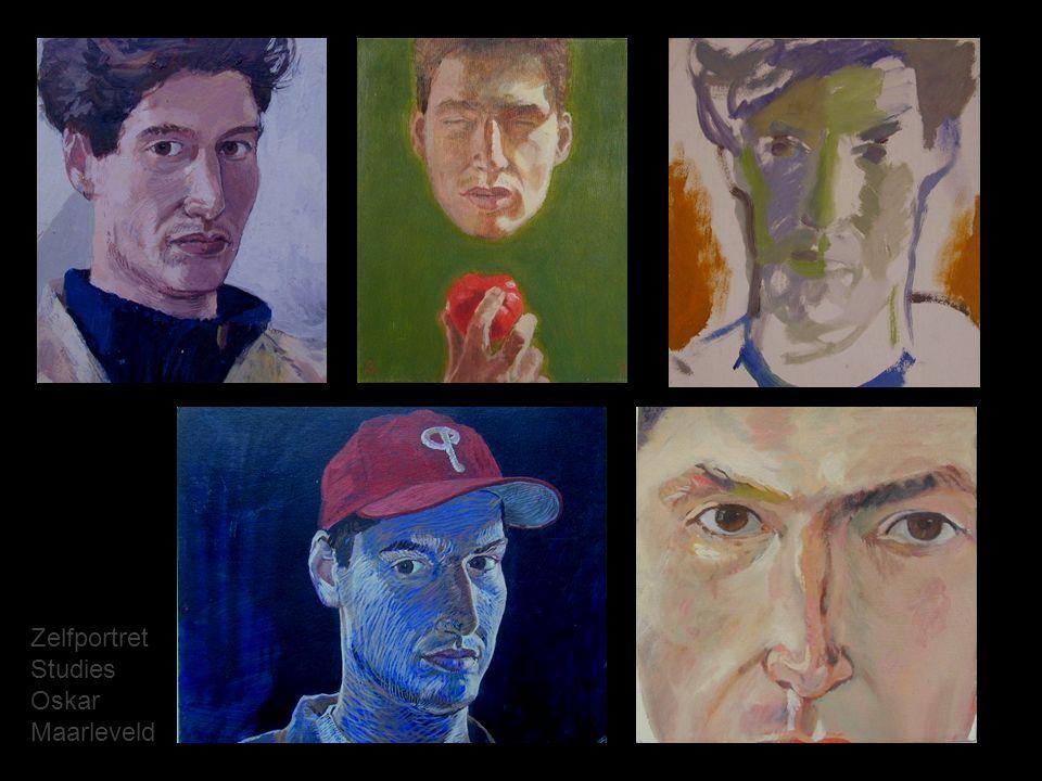 Zelfportret Studies Oskar Maarleveld