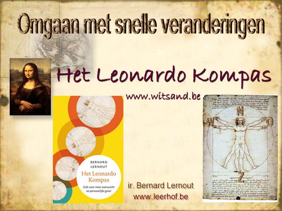Het Leonardo Kompas www.witsand.be ir. Bernard Lernout www.leerhof.be ir.