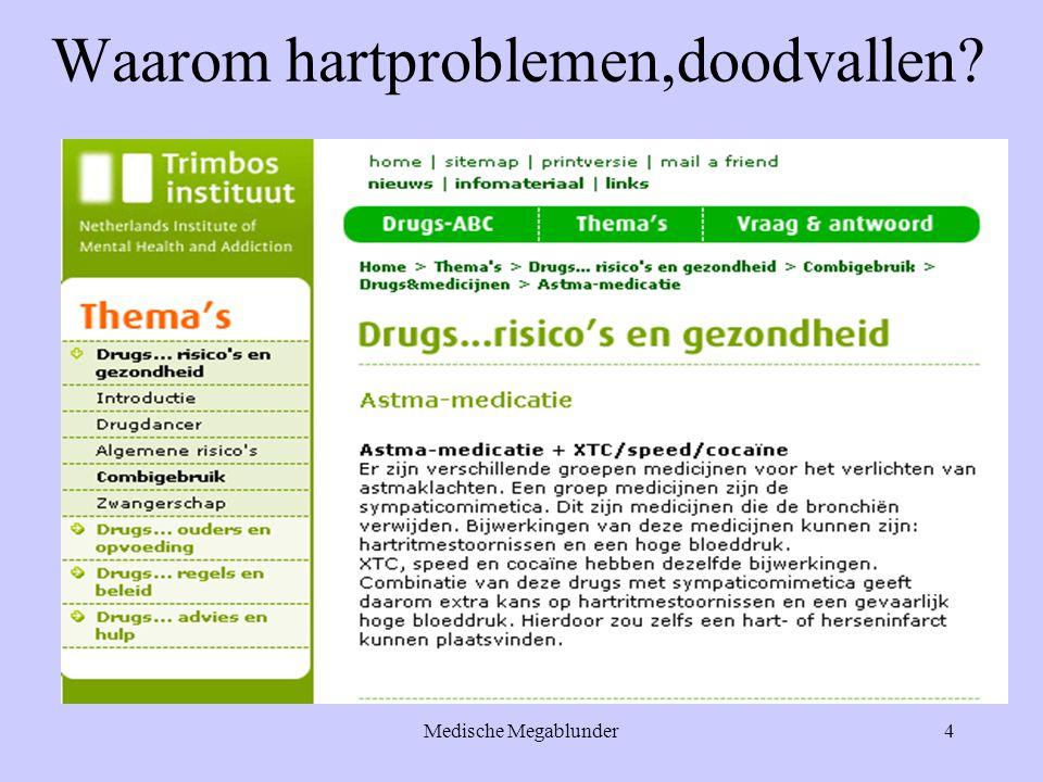 Medische Megablunder15 Genezen cocaïne-amfetamine stoffen slechte hersencellen .