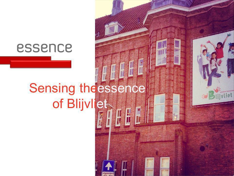 Sensing theessence of Blijvliet