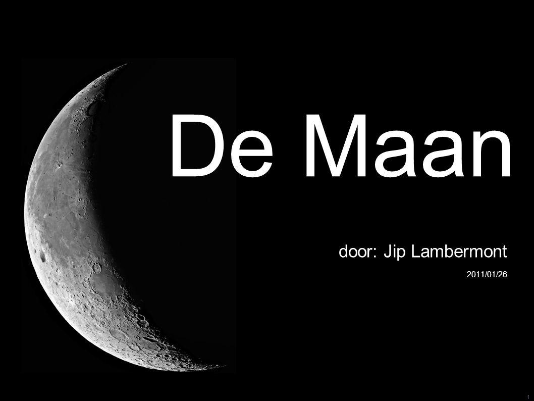 1 De Maan door: Jip Lambermont 2011/01/26