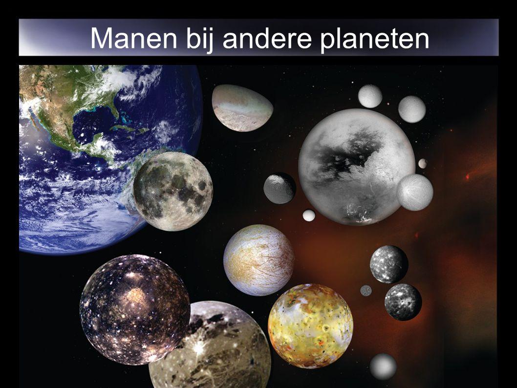 Manen bij andere planeten