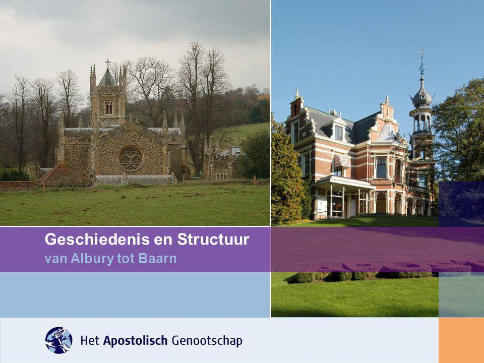 Geschiedenis en Structuur van Albury tot Baarn
