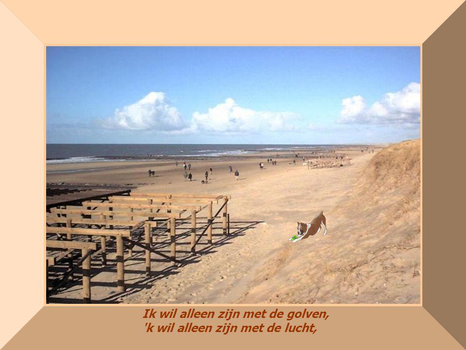 made by bepwww.powerpointsite-bep.nl Ik wil alleen zijn met de golven, 'k wil alleen zijn met de lucht,