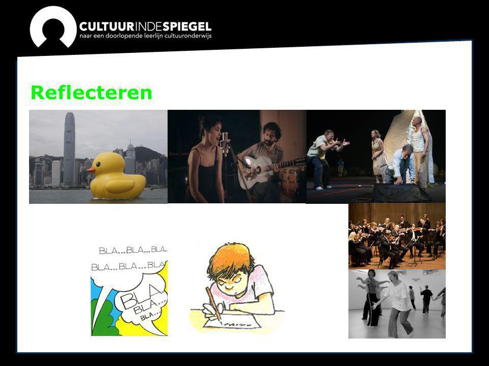 Cultuuronderwijs Cultuuronderwijs is onderwijs in cultuur over cultuur